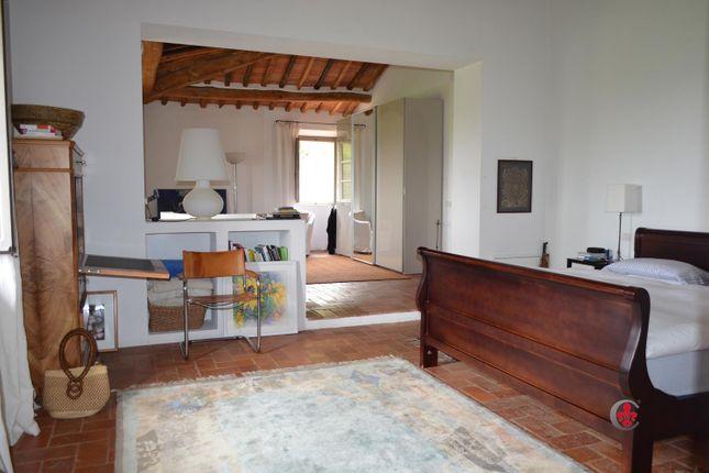 Bedroom of Montefollonico, Torrita di Siena, Tuscany, Italy