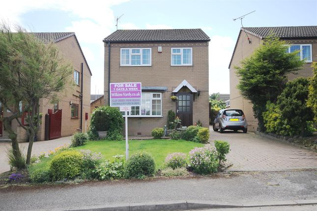 Thumbnail Detached house for sale in Tansley Road, North Wingfield, Chesterfield