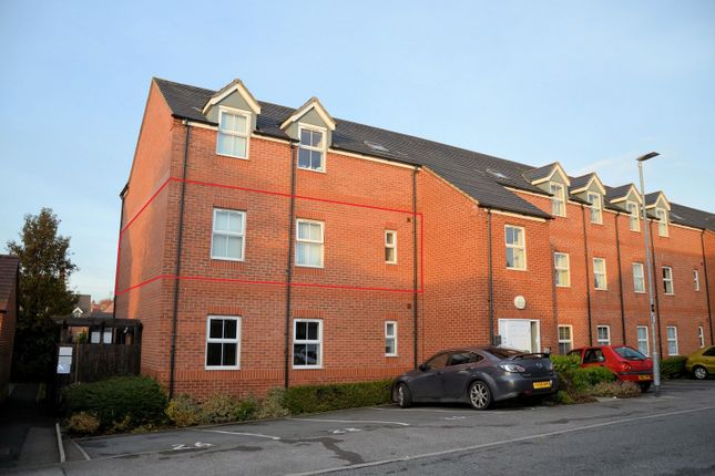 Thumbnail Flat for sale in Oak Crescent, Ashby De La Zouch