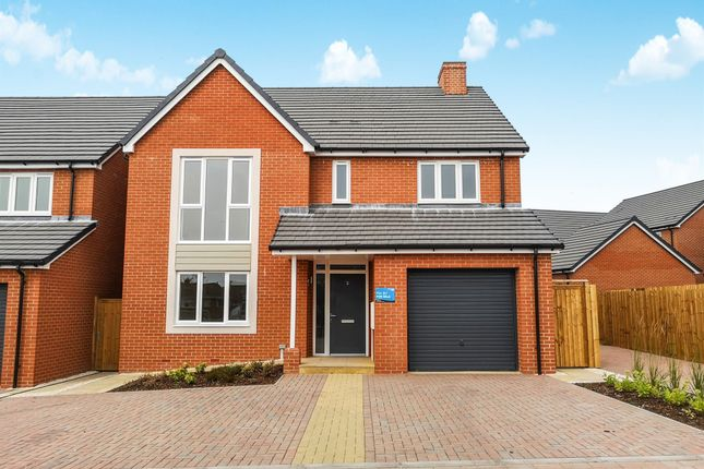 Thumbnail Detached house for sale in Plot 87 The Keyne Weogoran Park, Whittington Road, Worcester
