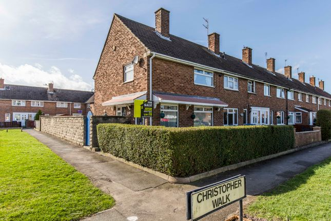 3 bed end terrace house for sale in Christopher Walk, Newton Aycliffe