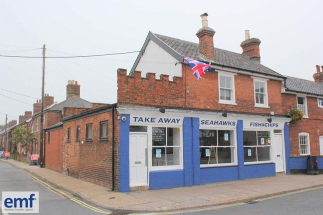 Thumbnail Restaurant/cafe for sale in Leiston, Suffolk