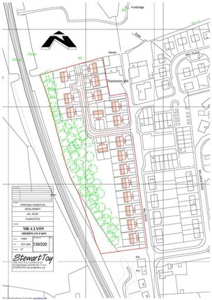 Thumbnail Land for sale in Mill Road, Thankerton, Biggar