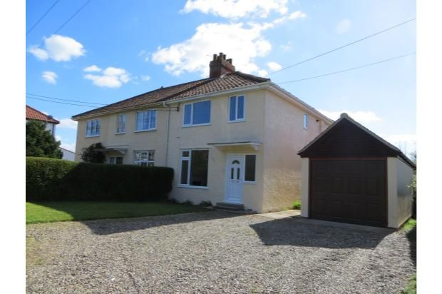 Thumbnail Semi-detached house for sale in Frenze Road, Diss