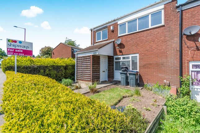 Thumbnail End terrace house for sale in Goode Avenue, Hockley, Birmingham