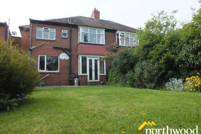 Thumbnail Semi-detached house to rent in Fowberry Crescent, Fenham, Newcastle Upon Tyne