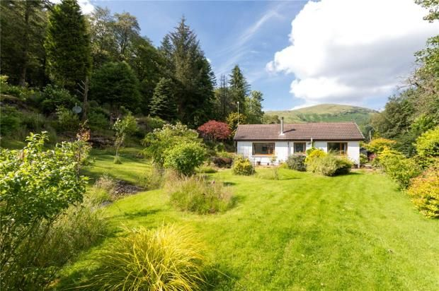 Thumbnail Detached bungalow for sale in Kennels Cottage, Glendaruel, Colintraive, Argyll And Bute