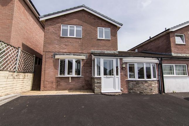 Thumbnail Link-detached house for sale in Cwmbeth Close, Crickhowell