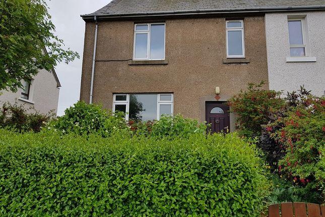Thumbnail End terrace house for sale in Mercury Terrace, St Cyrus, Montrose