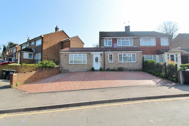 Thumbnail Semi-detached house to rent in Riverview Road, Greenhithe