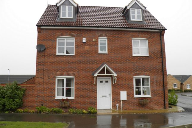 Thumbnail Detached house to rent in Charter Avenue, Market Deeping, Peterborough, Lincolnshire