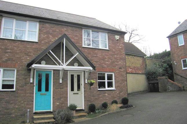 Thumbnail End terrace house to rent in Hardwick Mews, Woburn Sands, Milton Keynes
