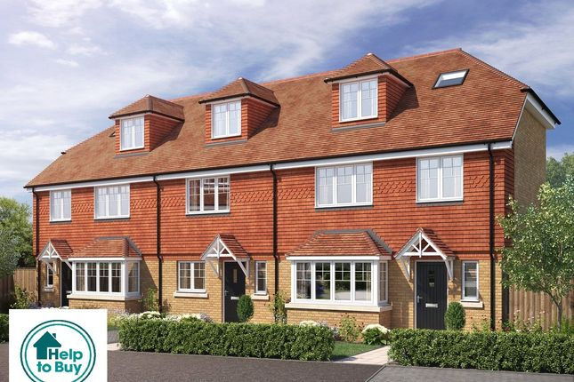 Thumbnail End terrace house for sale in All Saints Gardens, Nutfield Road, Merstham, Surrey