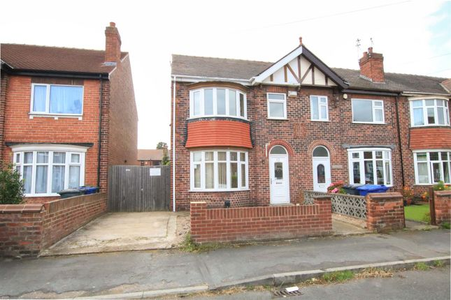 Thumbnail End terrace house for sale in Strathmore Road, Intake, Doncaster