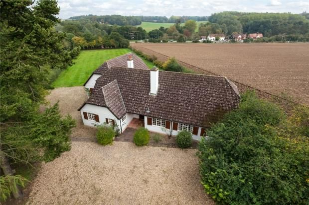 Thumbnail Detached bungalow for sale in Rookery Lane, Wendens Ambo, Saffron Walden, Essex