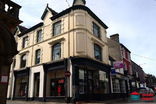 Thumbnail Retail premises for sale in High Street, Pwllheli