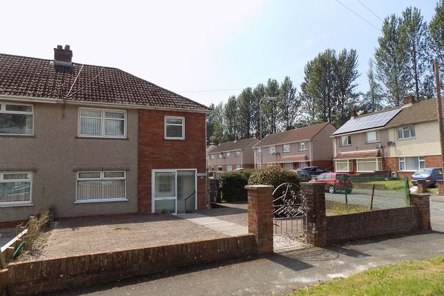 Thumbnail Semi-detached house for sale in Heol Crwys, Cwmavon, Port Talbot, Neath Port Talbot.