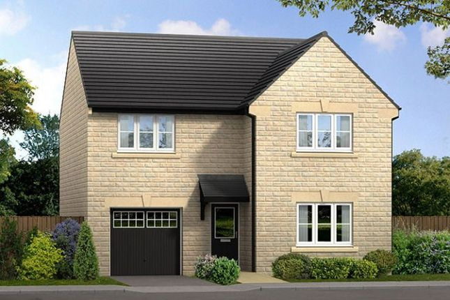"Thumbnail 4 bed detached house for sale in ""The Charnwood Stone"" at Chesterfield Road, Matlock Moor, Matlock"