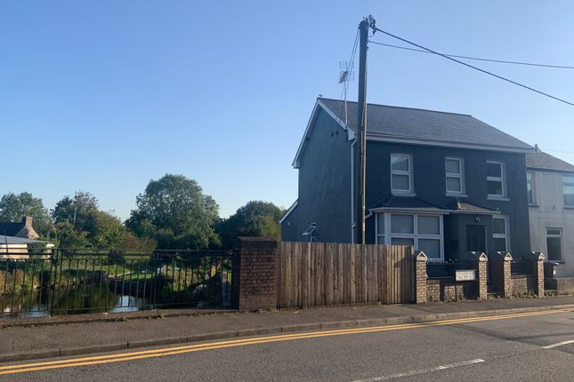 Thumbnail End terrace house for sale in Two Locks Road, Two Locks, Cwmbran