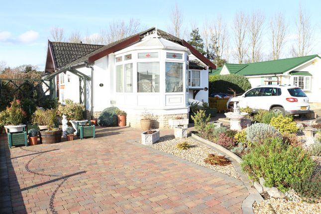 Thumbnail Detached bungalow for sale in Chestnut Court, Harbury Lane, Heathcote, Warwick