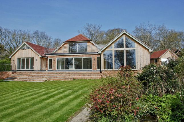 Thumbnail Detached house for sale in Monument Lane, Lymington, Hampshire