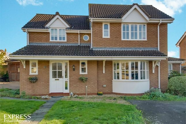 Thumbnail Detached house for sale in Taylors Field, Dullingham, Newmarket, Cambridgeshire