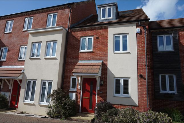 Thumbnail Town house to rent in Melrose Close, Maidstone