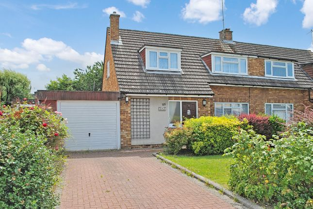 Thumbnail Semi-detached house for sale in Roseacres, Takeley, Bishop's Stortford