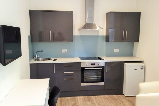 Studio to rent in Llanfair Buildings, Swansea