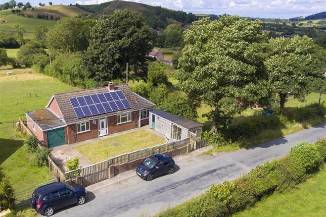 Thumbnail Detached bungalow for sale in Weston Road, White Grit, Minsterley