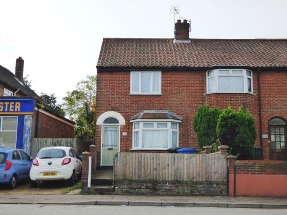 Thumbnail End terrace house for sale in Norwich, Norfolk