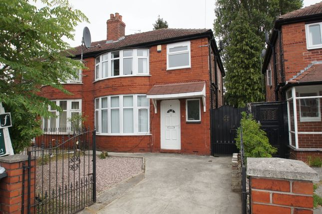 Thumbnail Semi-detached house for sale in Parrs Wood Road, Didsbury, Manchester