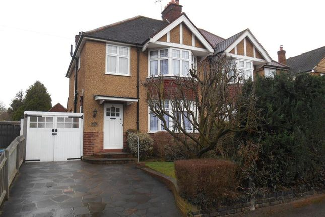 Thumbnail Semi-detached house to rent in Cassiobury Park Avenue, Watford