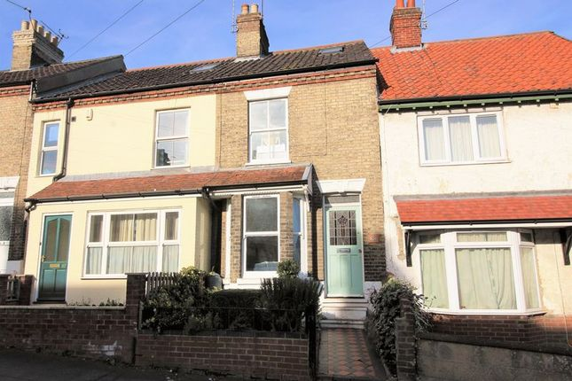 Thumbnail Terraced house for sale in Avenue Road, Norwich