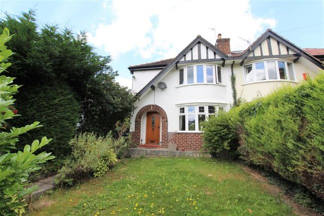 Thumbnail Semi-detached house for sale in The Rock, Helsby, Cheshire