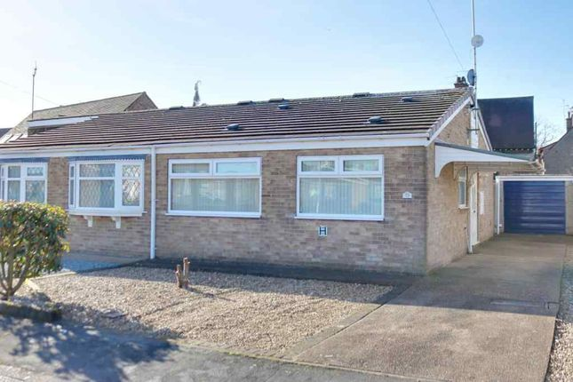 Thumbnail Semi-detached bungalow for sale in Dornoch Drive, Hull