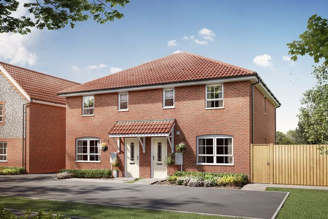 3 bed semi-detached house for sale in Ceres Rise, Norwich Road, Swaffham PE37