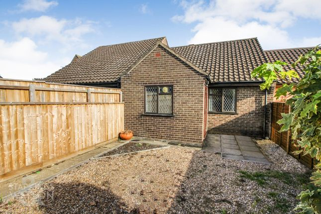 Thumbnail Terraced bungalow for sale in Nursery Close, Hellesdon, Norwich