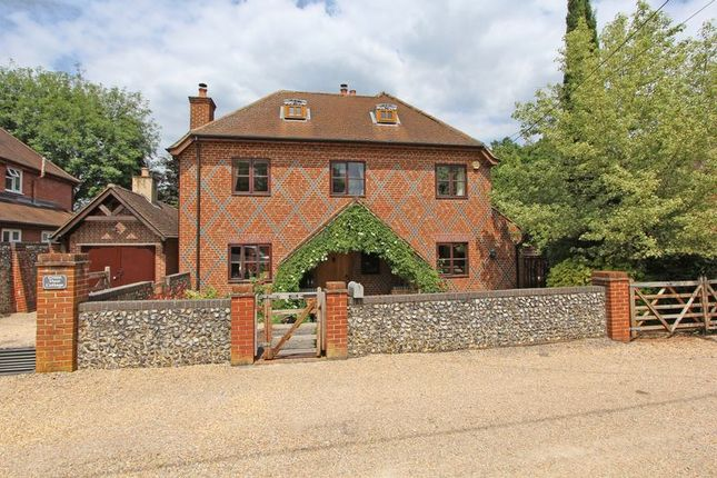 Thumbnail Detached house for sale in Football Green, Minstead, Lyndhurst