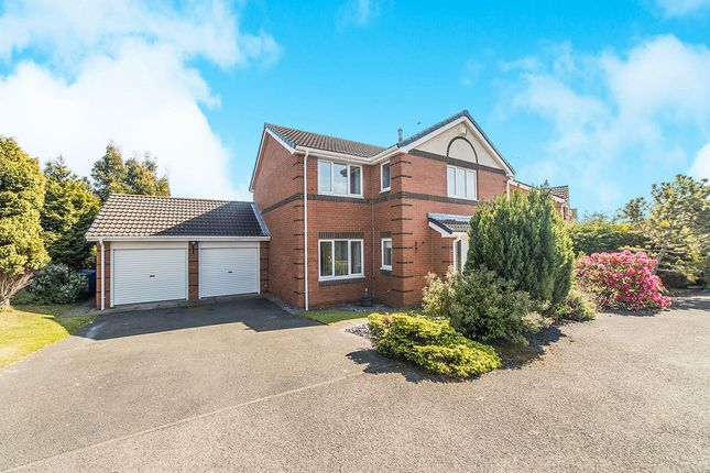 Thumbnail Detached house for sale in Cheadle Avenue, Cramlington