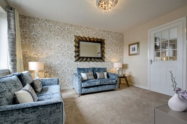 """Thumbnail Terraced house for sale in """"The Brodick"""" at Lanton Road, Off Drysdale Avenue, Larbert"""