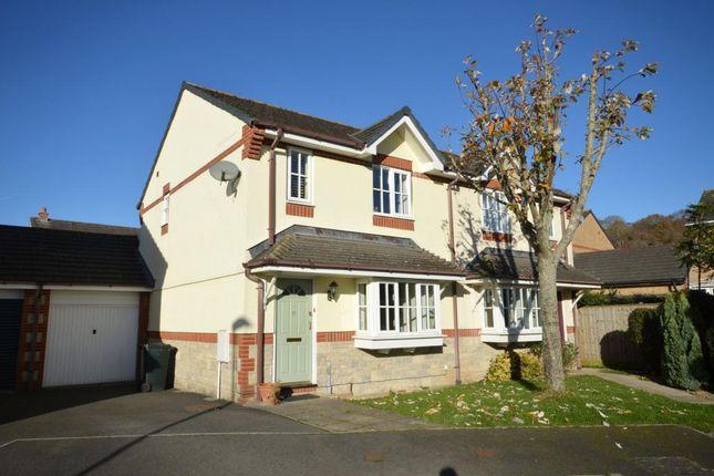 Thumbnail Semi-detached house for sale in De Tracey Park, Bovey Tracey, Newton Abbot, Devon