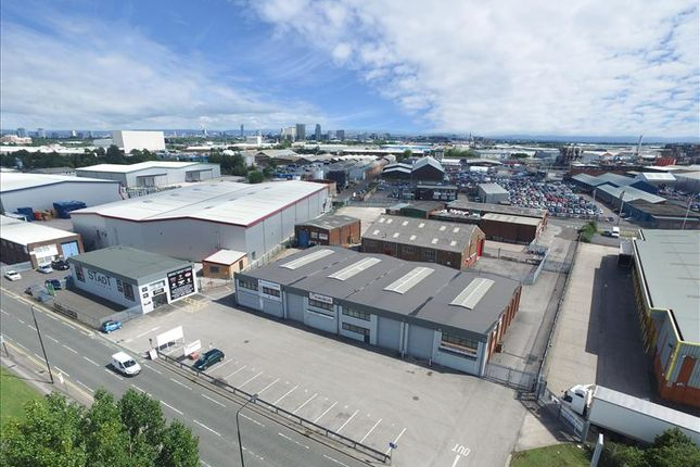 Thumbnail Light industrial to let in Unit 9 Guinness Road, Trafford Park, Manchester, Greater Manchester