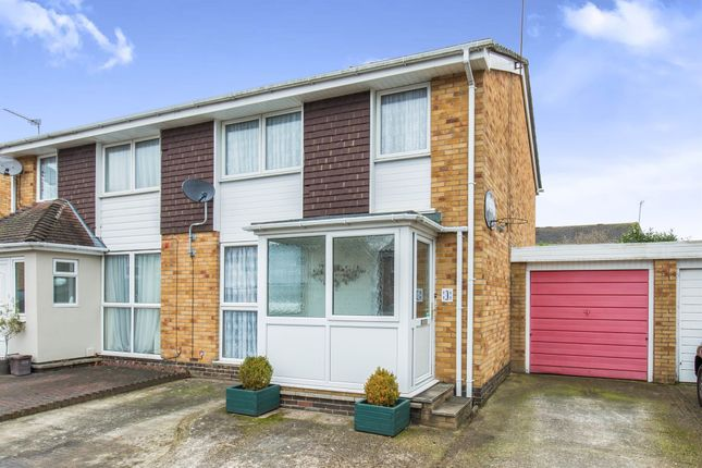 Thumbnail Semi-detached house for sale in Rose Close, Hedge End, Southampton
