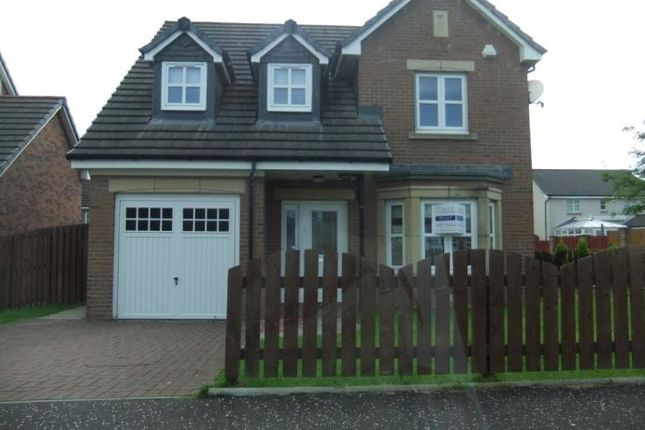 Thumbnail Detached house to rent in Leggate Way, Bellshill