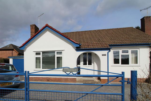Thumbnail Detached bungalow to rent in Whittington, Oswestry