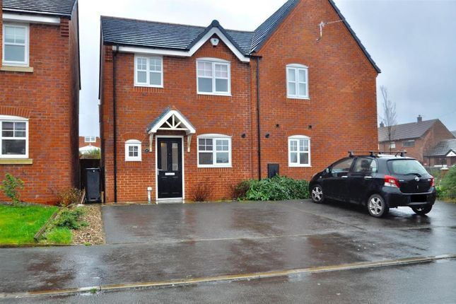 Thumbnail Semi-detached house for sale in Cotton Mills Drive, Hyde
