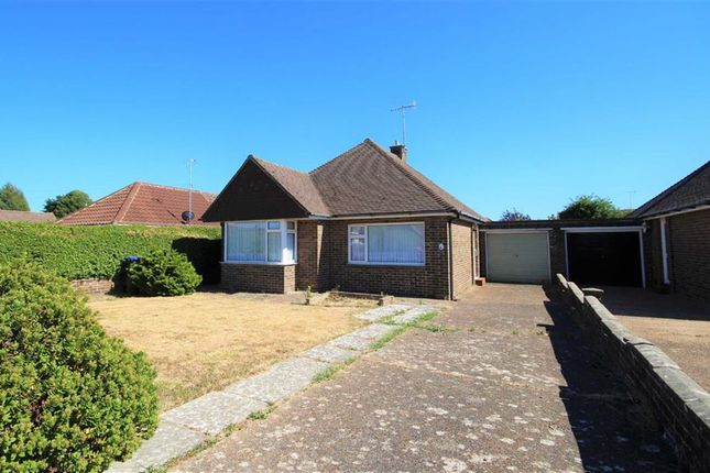 Thumbnail Detached bungalow for sale in Keswick Close, Goring, West Sussex