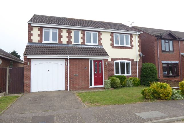 Thumbnail Detached house to rent in Whimbrel Drive, Bradwell, Great Yarmouth
