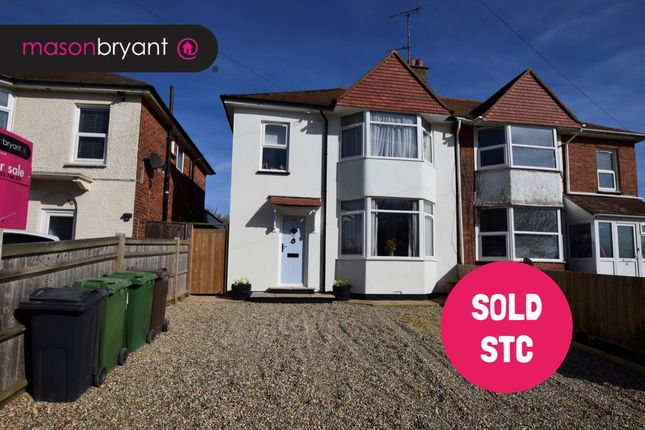 Thumbnail Semi-detached house for sale in Roselands Avenue, Eastbourne